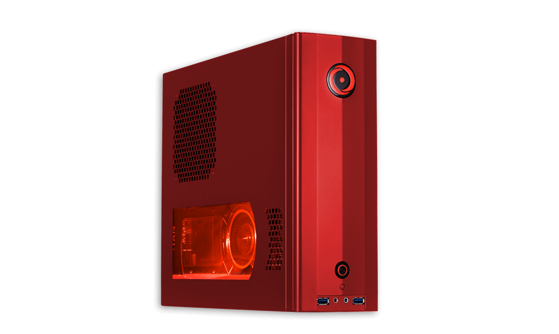 ORIGIN PC CHRONOS RED