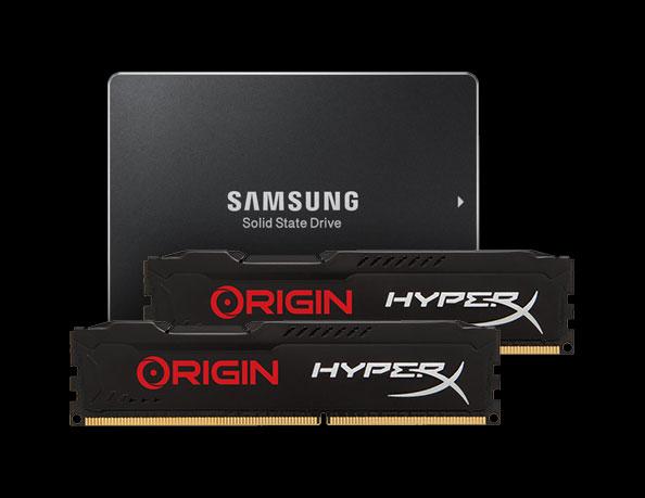 Samsung SSD and HyperX ram