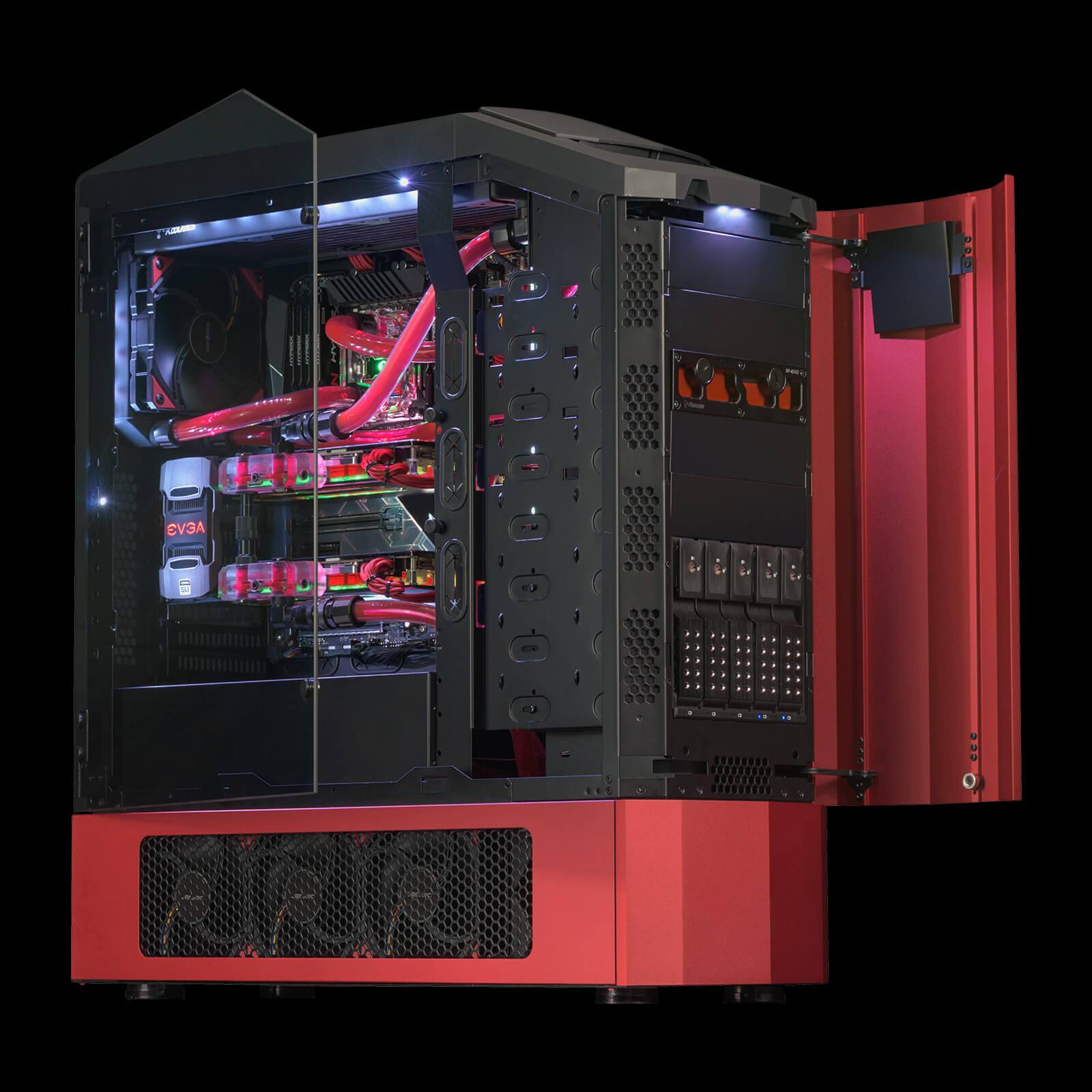 Genesis Gaming Desktop Full Size Origin Pc Custom Cpu Gpu Processing Unit Enhanced Circuit Board Design Gallery