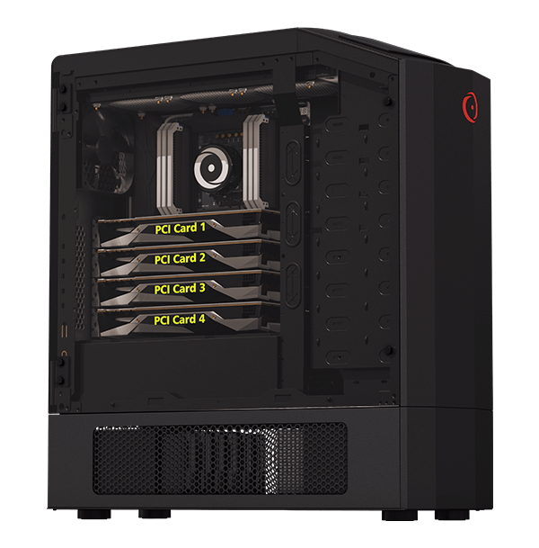 Genesis Gaming Desktop Full Size Origin Pc