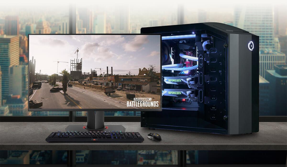 millennium gaming desktop mid size origin pc
