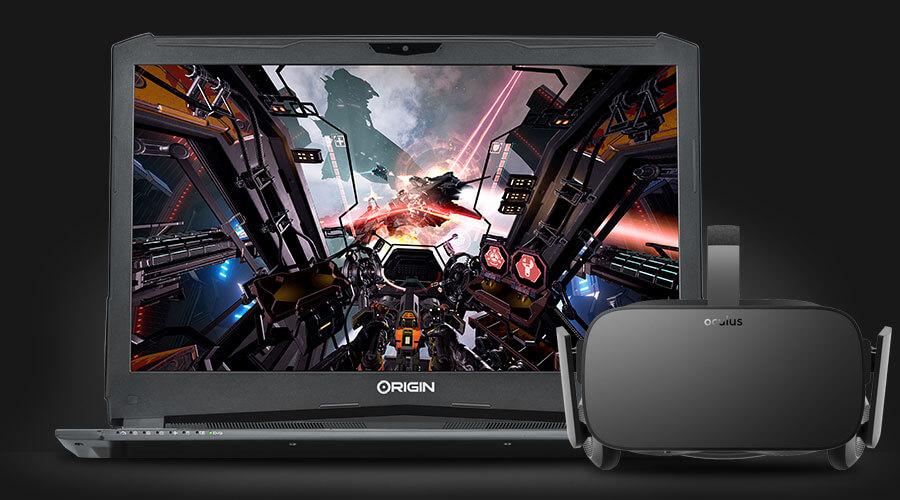 EVO17-S running VR game