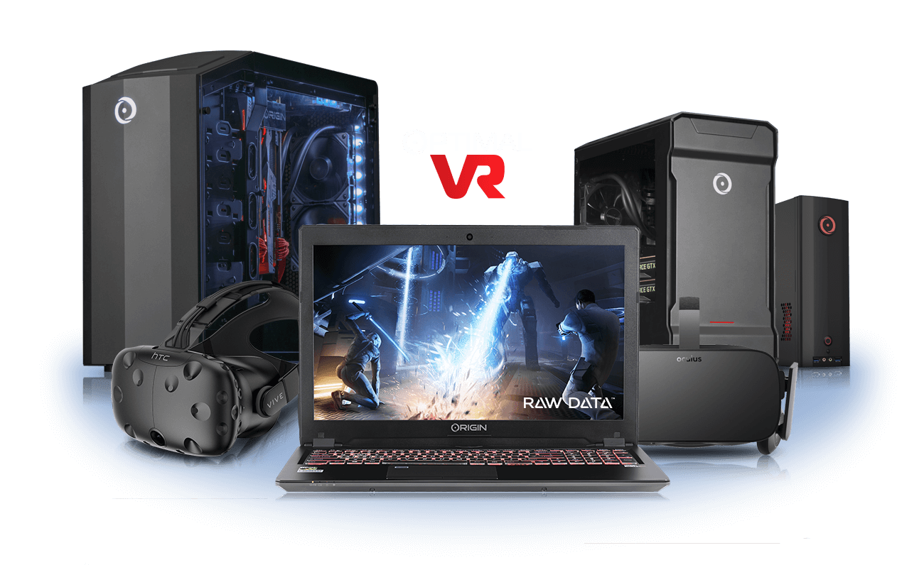 VR PCs, VR Laptops | ORIGIN PC