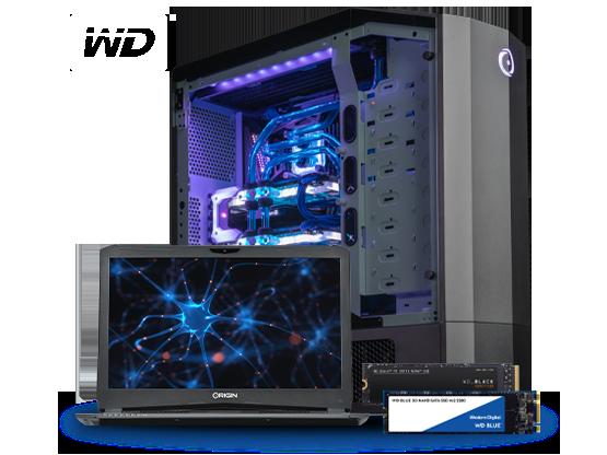 Western Digital Black and Blue SSD