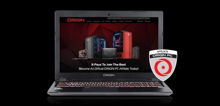 Learn More about ORIGIN PC's Affiliate Program