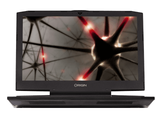 EON17-SLX Compact Gaming Laptop - Front View
