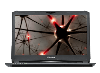 EON17-X Compact Gaming Laptop - Front View
