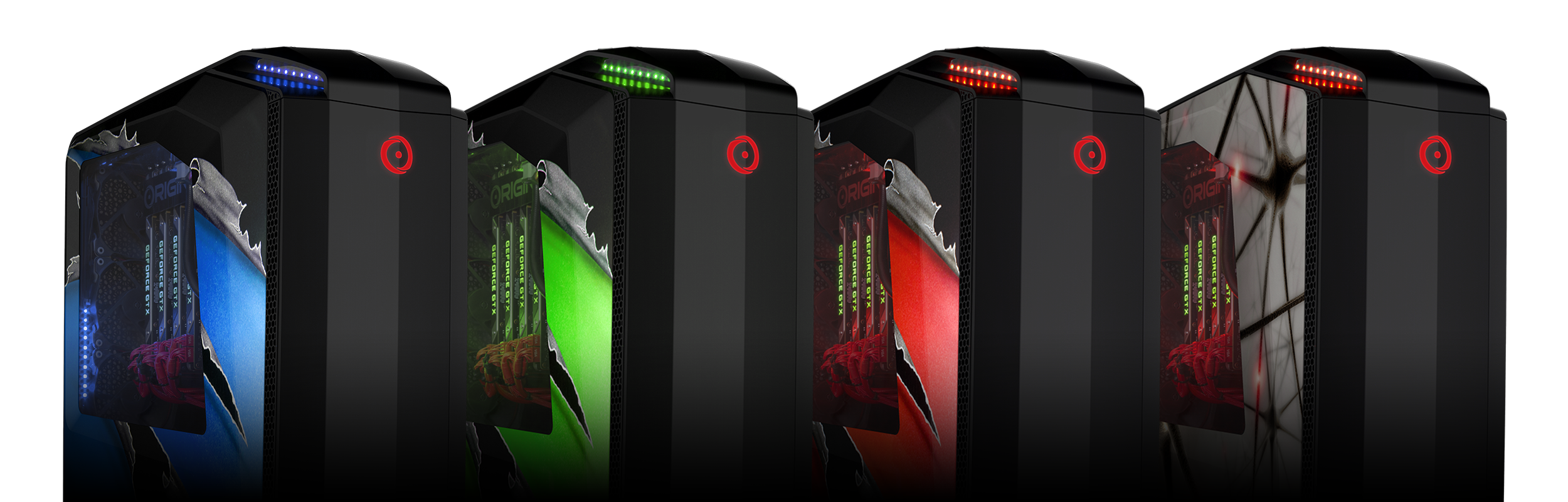 Millennium Pro Hpc Workstation Mid Tower Origin Pc Light Laser Led Gt Circuits Traffic Lights For Games With Line Up Of All Available Case Colors