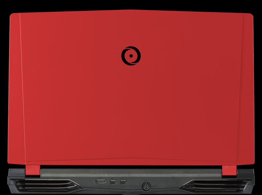 Back view of NS-15 with traditional red panel