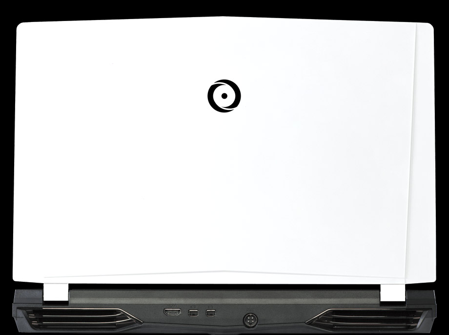 Back view of NS-15 with traditional white panel