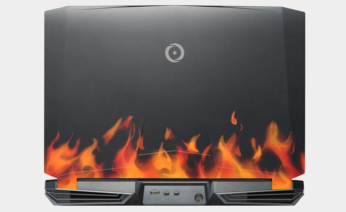 Black flames