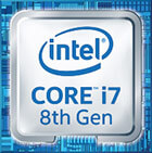 Intel Inside Core i7 8th Gen Badge
